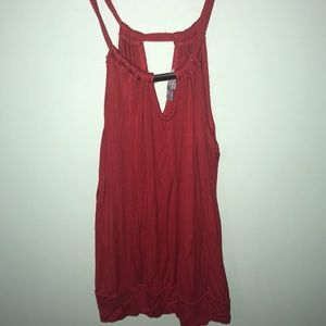 This is a new red top from Charlotte Russe.